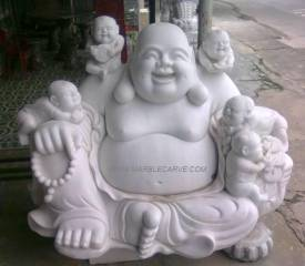 Marble Buddha Statue carving Sculpture Garden carving photo image