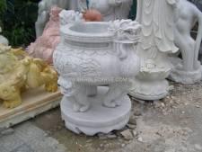 Marble Insense Burner carving Sculpture Garden carving photo image