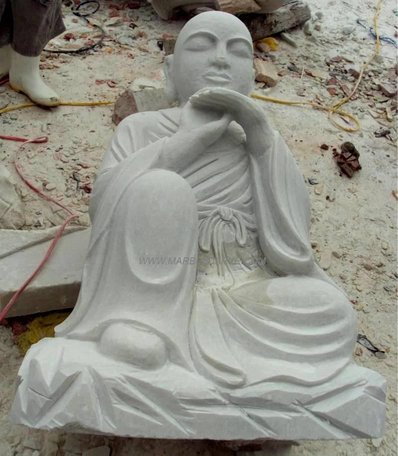 marble Buddha Statue carving sculpture