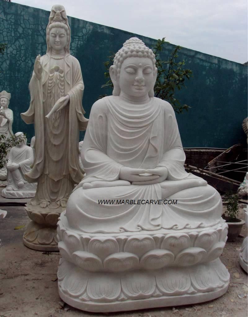 buddha statue carving sculpture