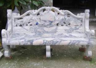 Marble bench Statue Sculpture statue carving