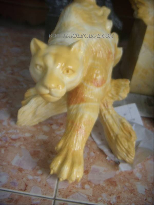 Mountain Lion Panther Statue sculpture
