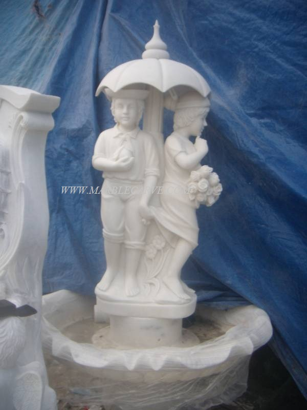marble fountain carving sculpture photo image
