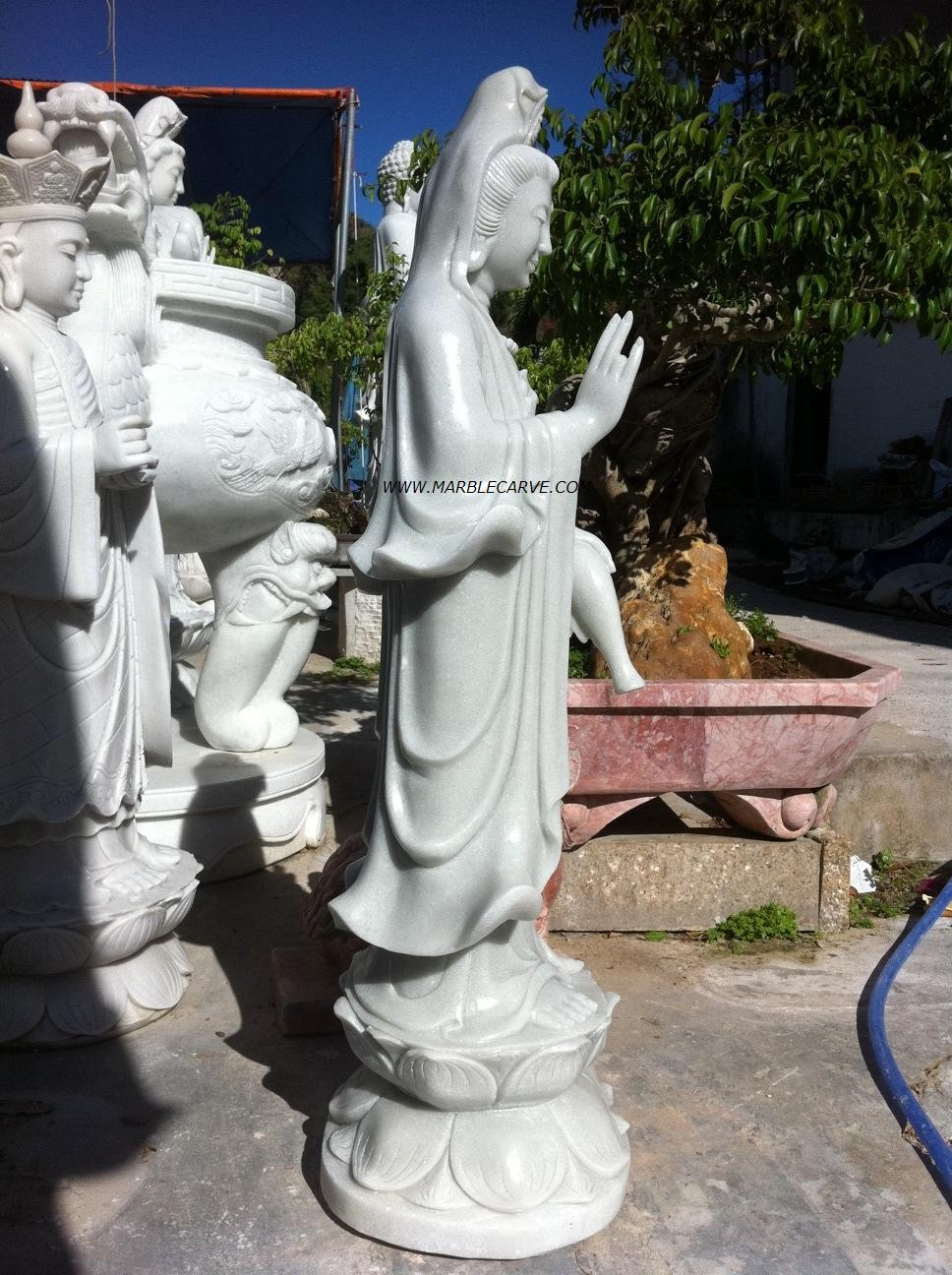Large Kuan Yin Garden Statue Designs