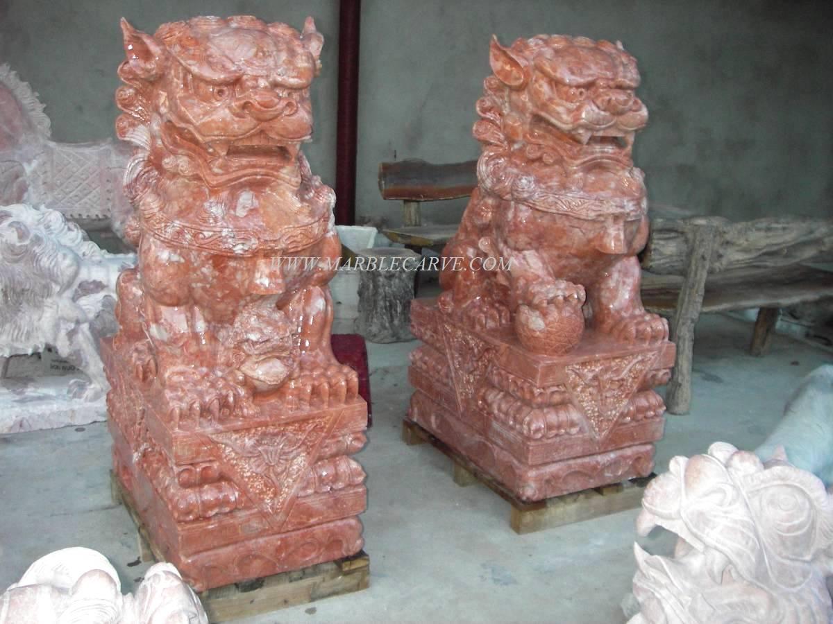 Fu Dogs Statue