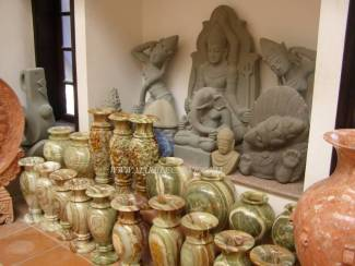 Marble Vase Vessel carving Sculpture Garden carving photo image