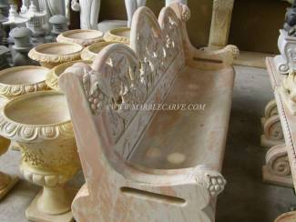 Marble Bench carving Sculpture Garden carving photo image