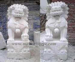 foo dog marble Carving