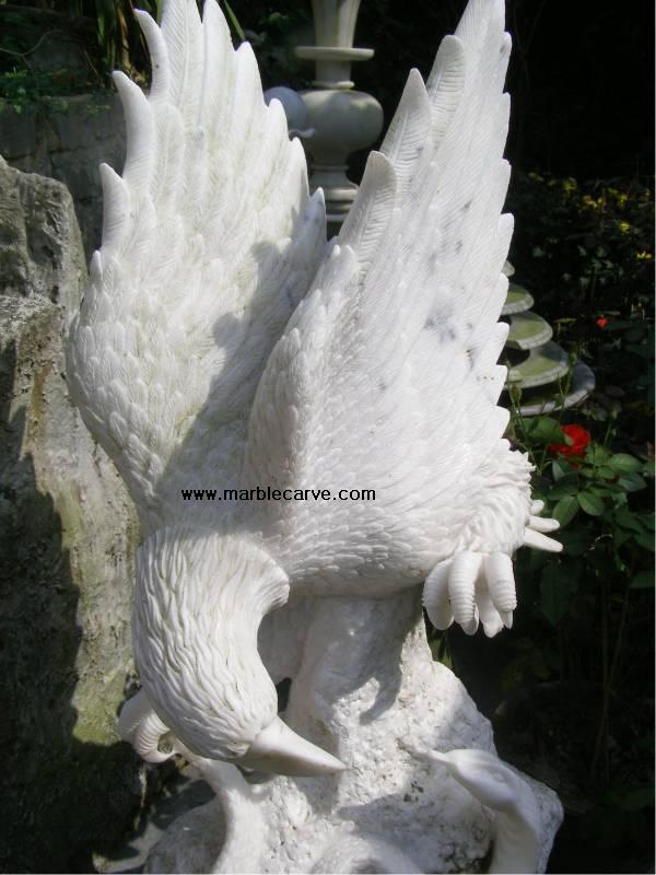 marble Eagle Statue