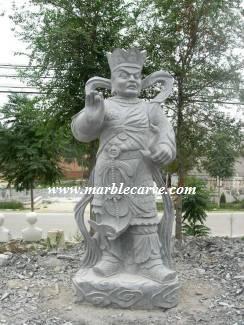 marble Warrior Statue