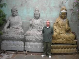 marble Quan Yin Statue