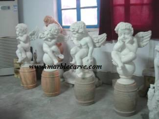 marble Charib Carving