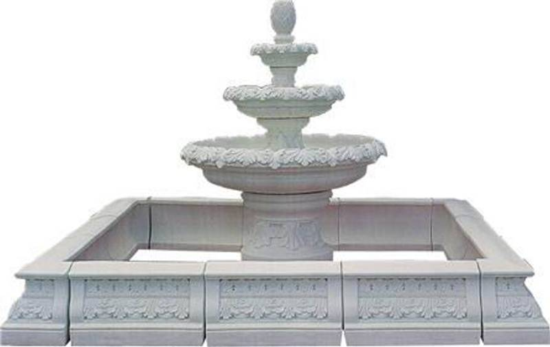 Marble Fountain Statue